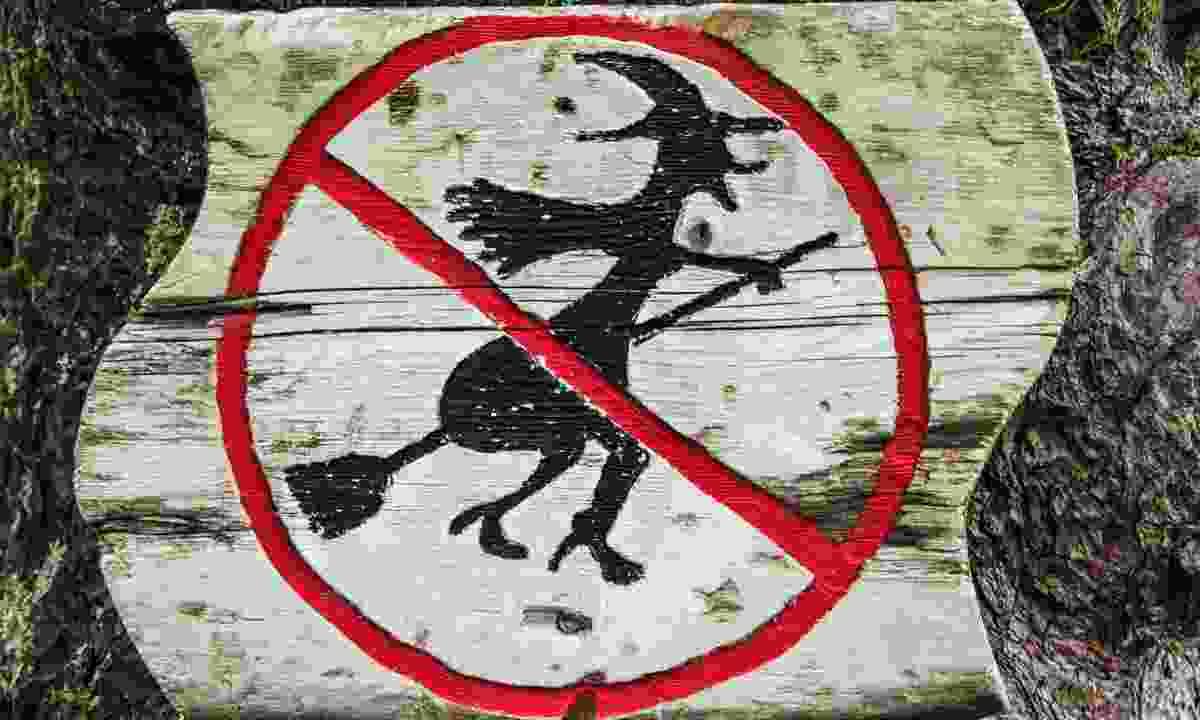 Witch flights are forbidden near Burgen (Shutterstock)