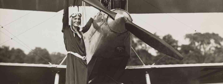 Amelia Earhart was a groundbreaking female pilot (Shutterstock)