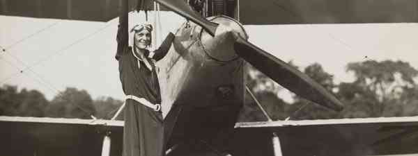 Amelia Earhart was a groundbreaking female pilot (Shutterstock)