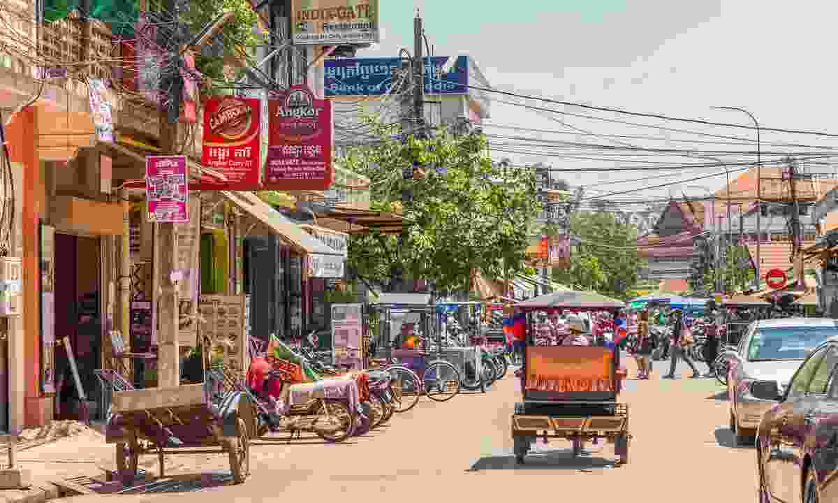 How to get to Siem Reap (Shutterstock)