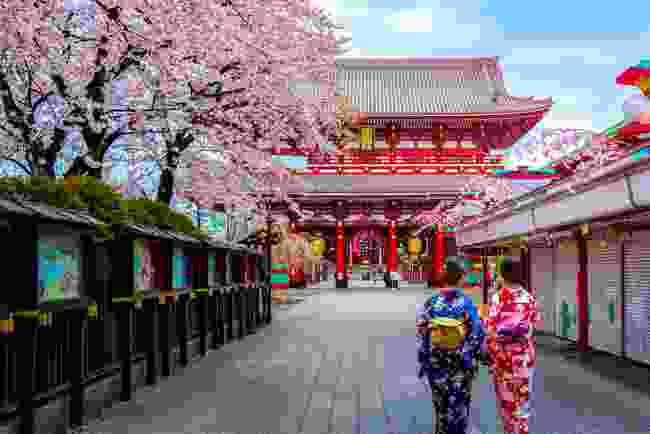 Visit Asakusa (Shutterstock)