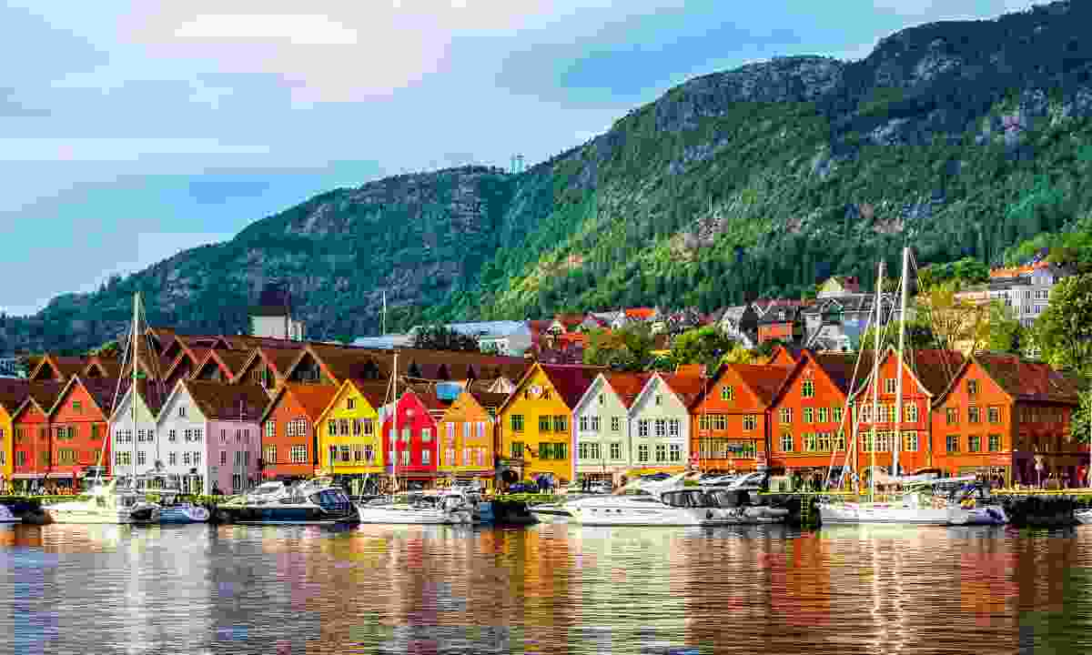 The colourful houses of Bryggen (Shutterstock)