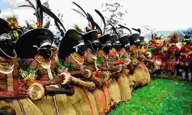 Enga dancers (PNGTPA)