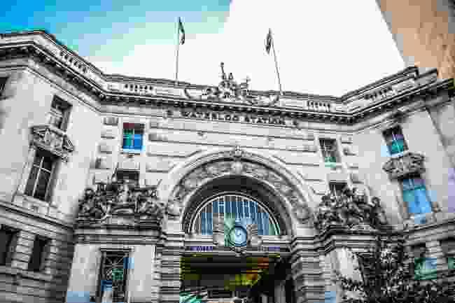 Waterloo Underground Station, London (Shutterstock)