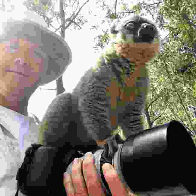 William Gray and friend in Madagascar (William Gray)