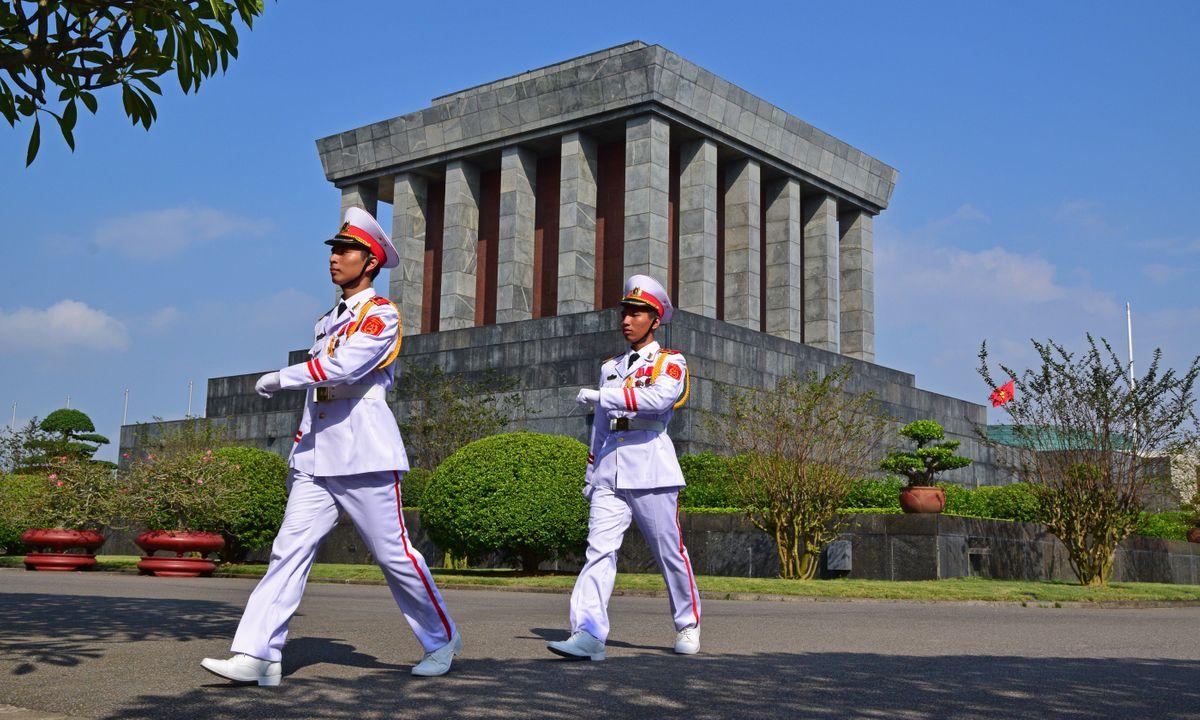 Ho Chi Minh Mausoleum in Hanoi (Dreamstime)