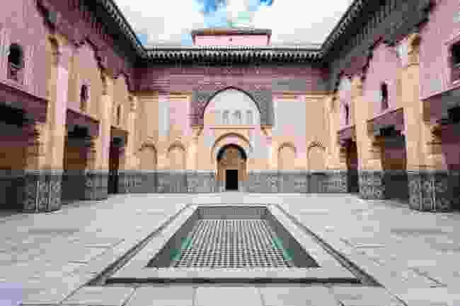 Ben Youssef Medersa, an Islamic college in Marrakech (Shutterstock)