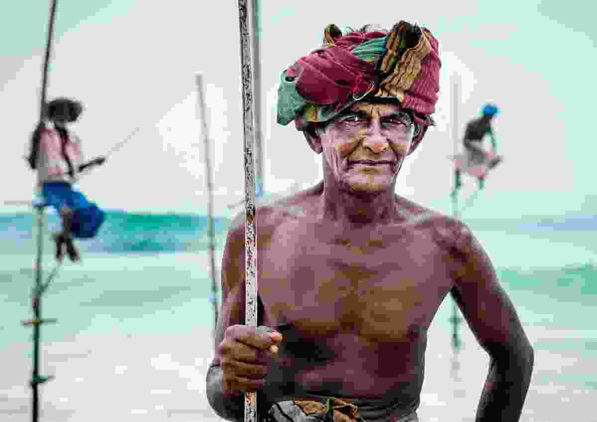 Koggala stilt fishermen: Koggala, Sri Lanka (Kevin Lloyd)