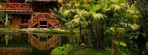 Mindo Loma, an eco lodge In Ecuador (Shutterstock)