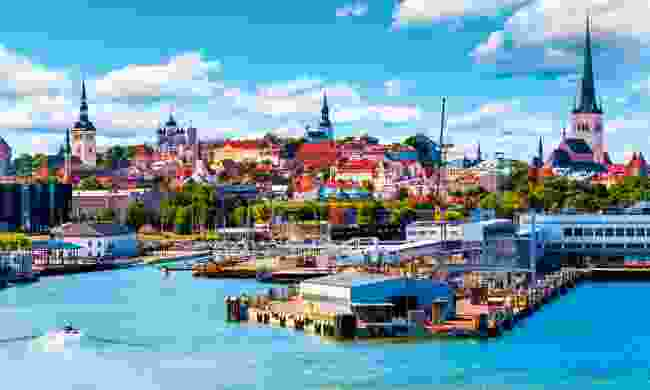 Estonia's old port of Tallin built its wealth as a base for the powerful Hanseatic League (Shutterstock)