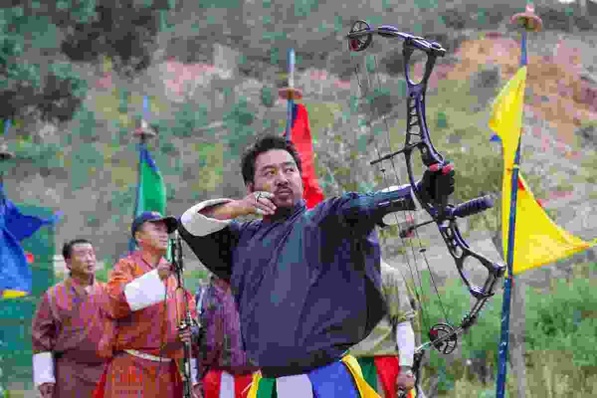 Archery in Bhutan (Shutterstock)