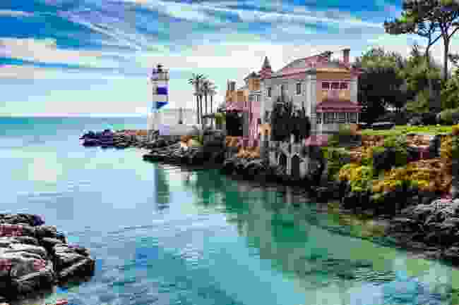 Santa Marta Lighthouse and Museum in Cascais, Portugal (Shutterstock)