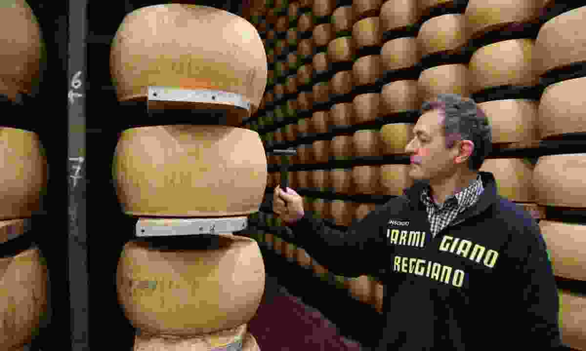 Parmigiano-Reggiano is stored for 24-36 months (Graeme Green)