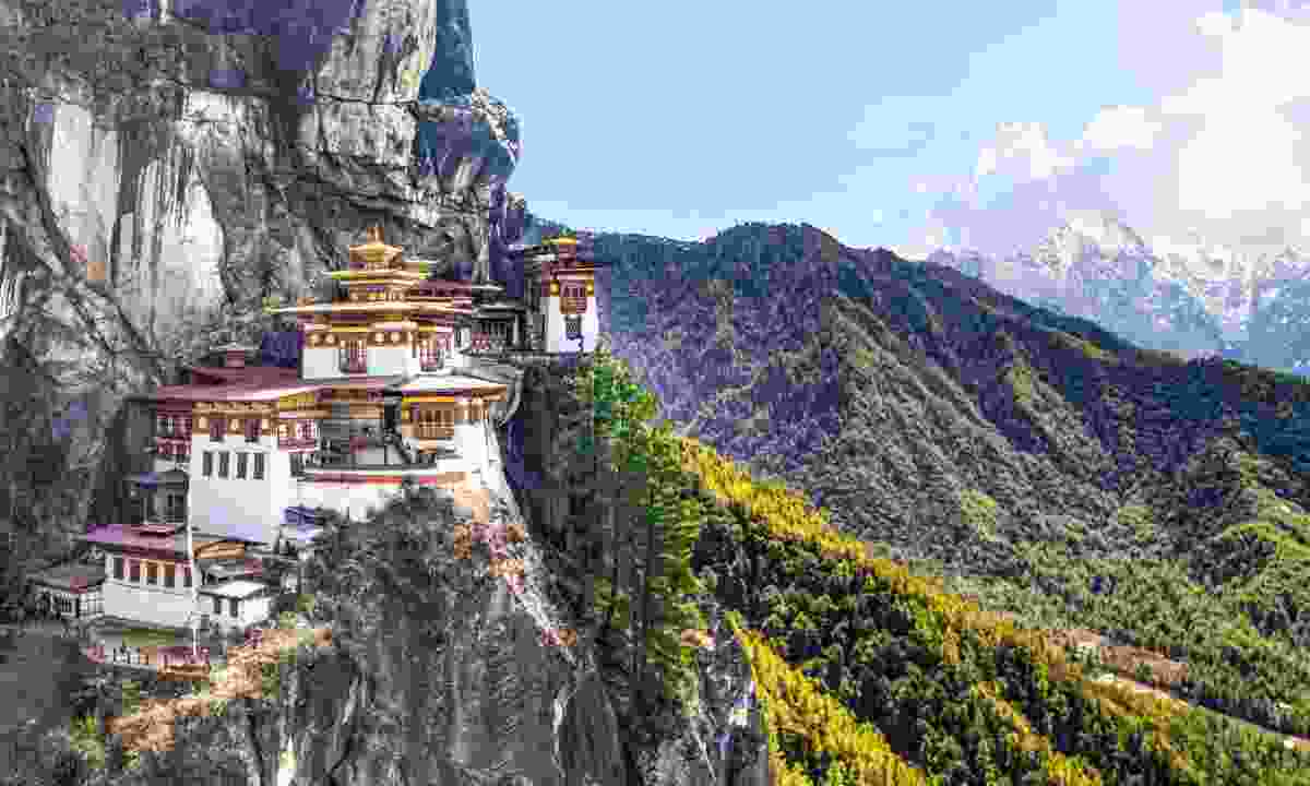 Tiger's Nest Temple (Dreamstime)