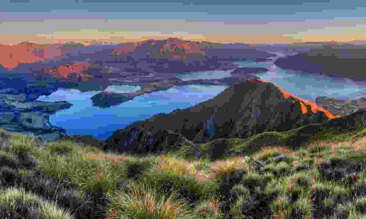 Lake Wanaka seen from the summit of Roy Peak (Dreamstime)