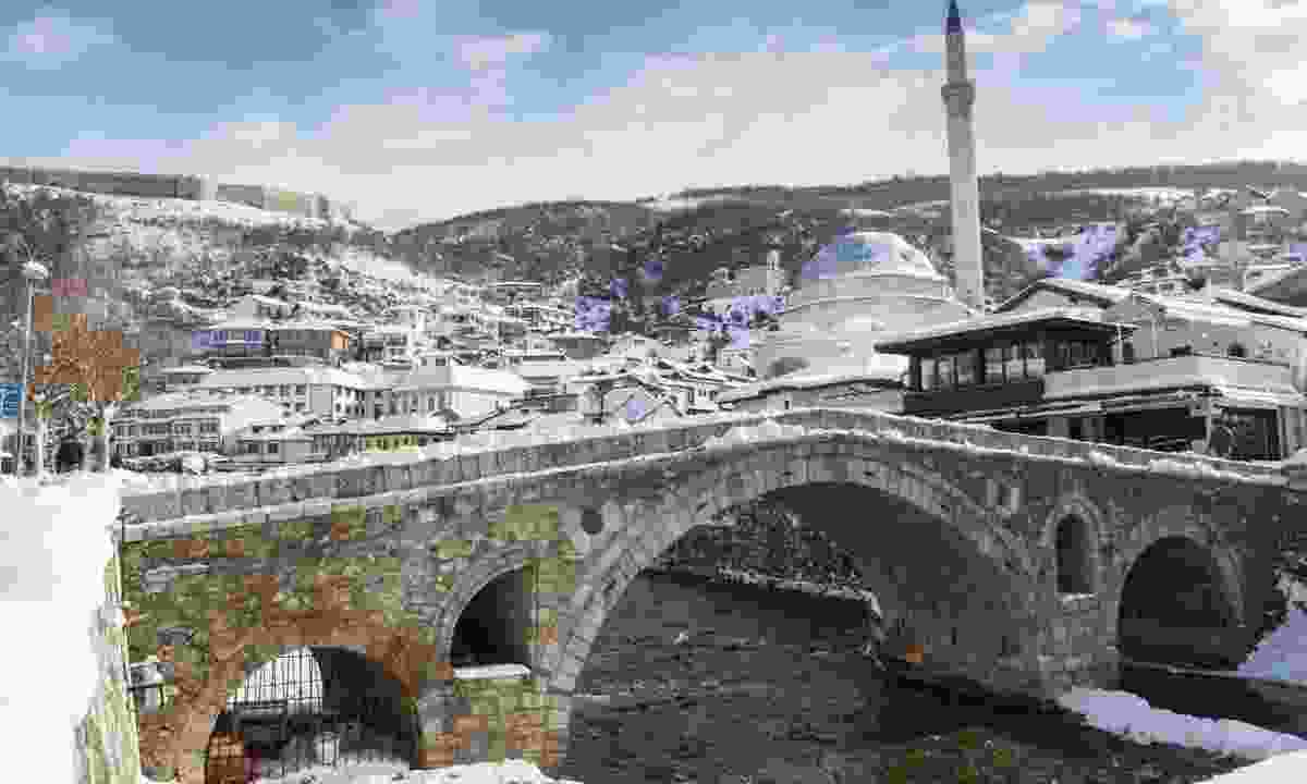 Prizren in winter (Dreamstime)