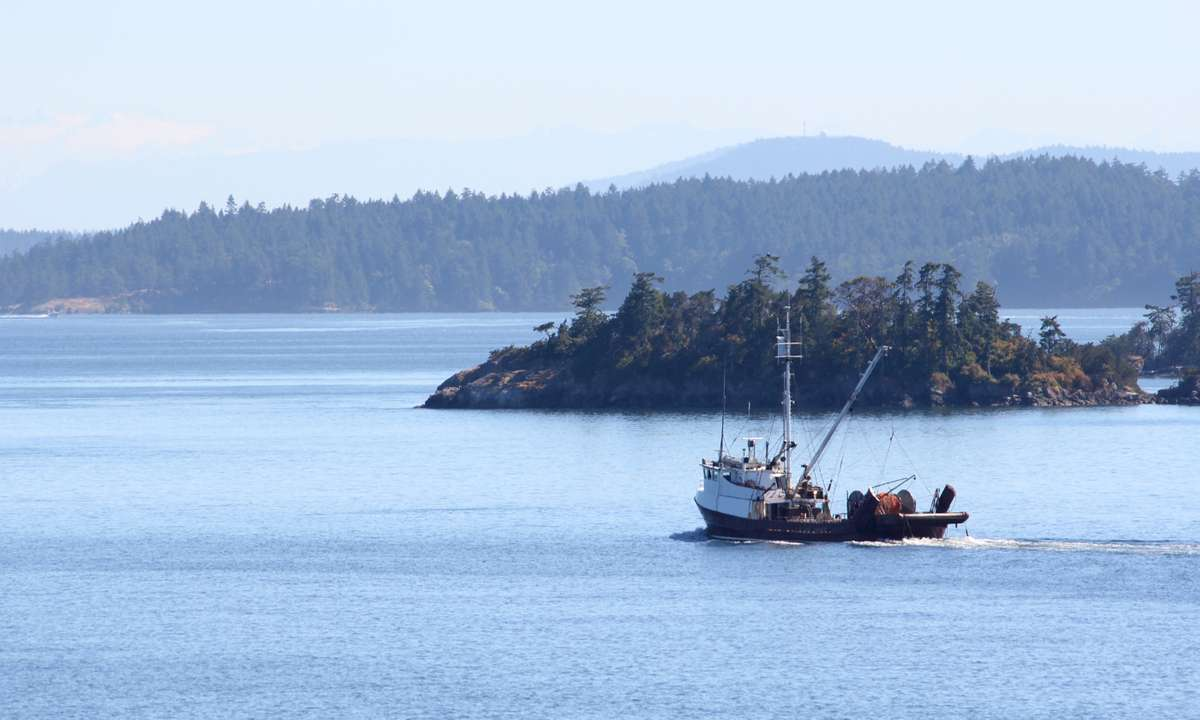 The islands of British Columbia (Dreamstime)