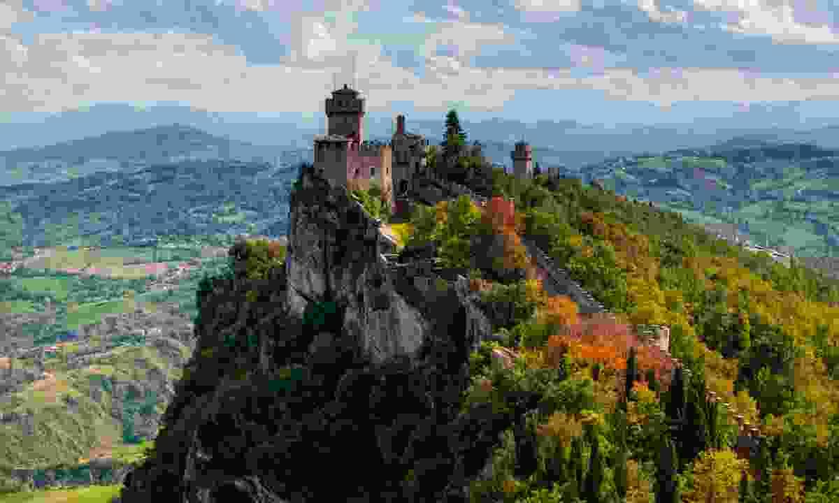 San Marino castle (Dreamstime)
