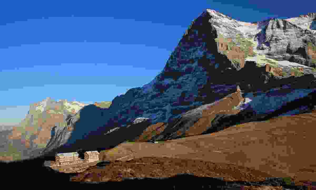 North Face of the Eiger from Kleine Scheidegg, Swiss Alps (Dreamstime)