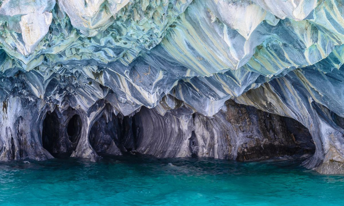 The Marble Caves of General Carrera Lake (Dreamstime)