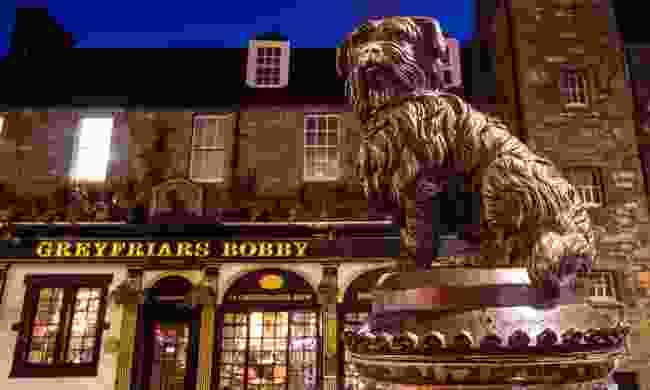 Bobby at night (Dreamstime)