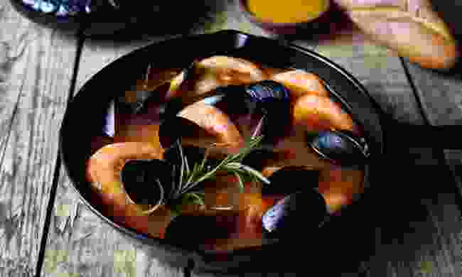 Bouillabaisse, the traditional dish of Marseille (Dreamstime)