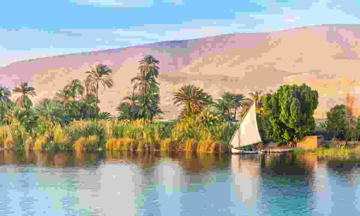 The view of the Nile from your dahabiya (Shutterstock)