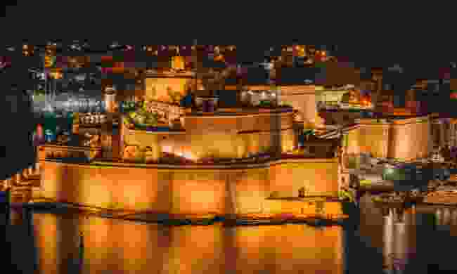 Fort St. Angelo at night (Shutterstock)