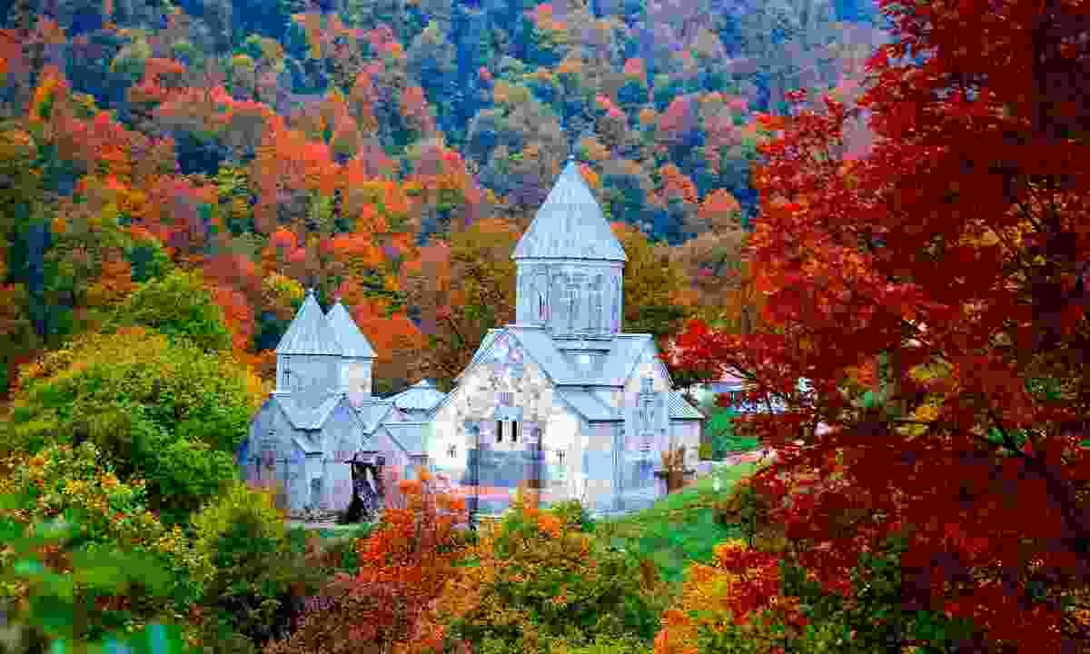 Haghartsin Monastery, near Dilijan (Shutterstock)