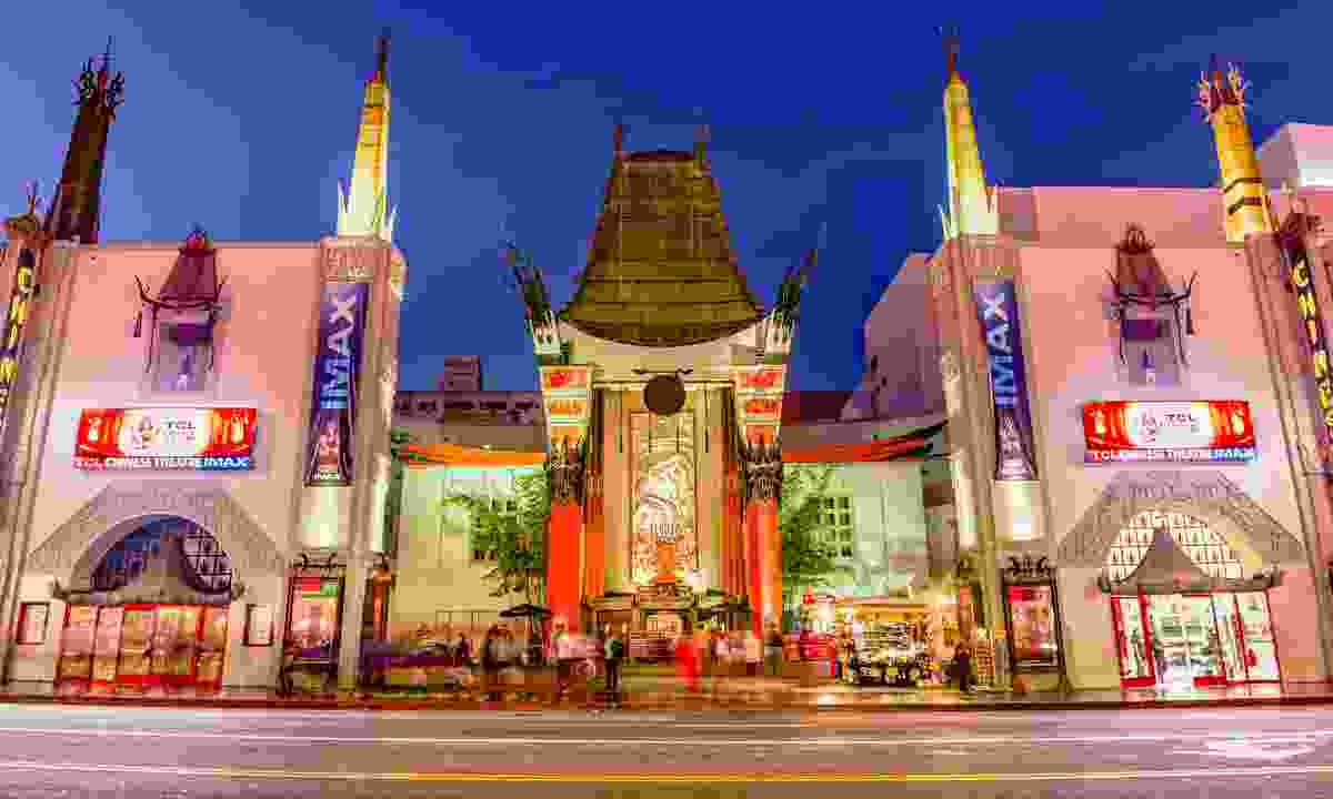 Grauman's Chinese Theatre on Hollywood Boulevard (Shutterstock)