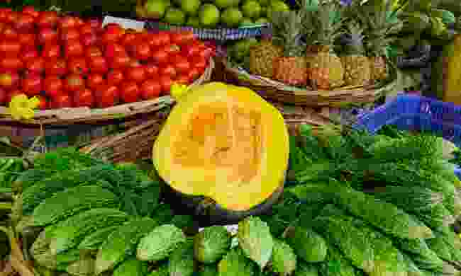 Traditional Mauritian food (Dreamstime)