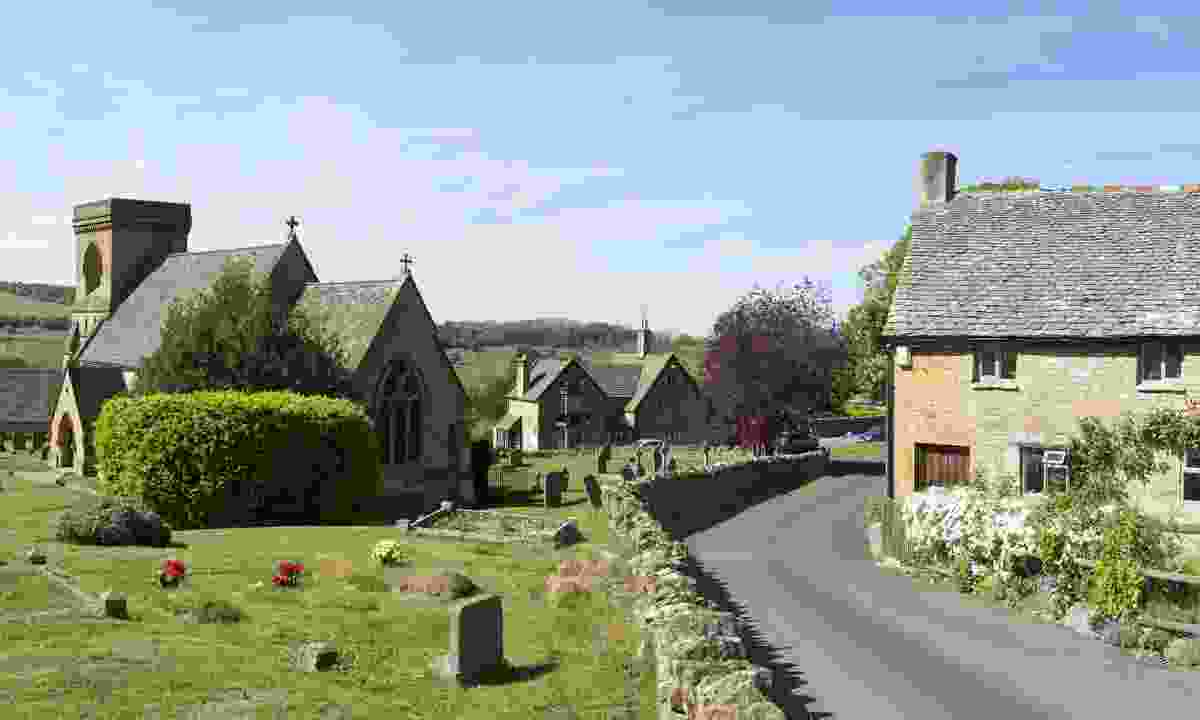 The village of Snowshill (Shutterstock)