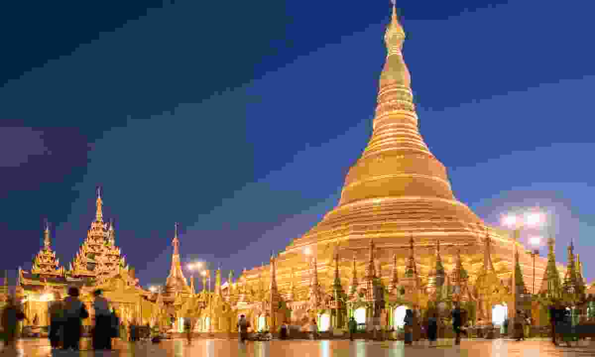 Shwedagon pagoda in Yangon (Dreamstime)