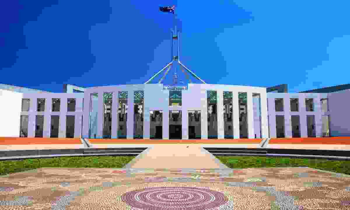 Australian Parliament House in Canberra (Dreamstime)