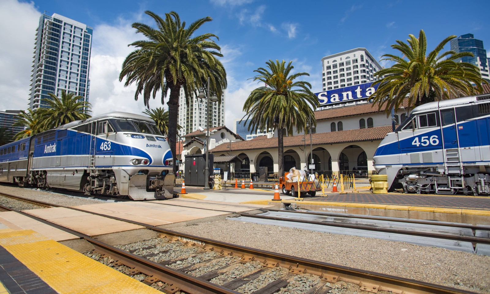 Train station in San Diego, California (Dreamstime)