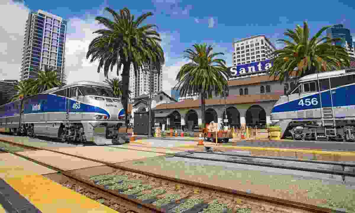 Train station in San Diego, California (Dreamstime)