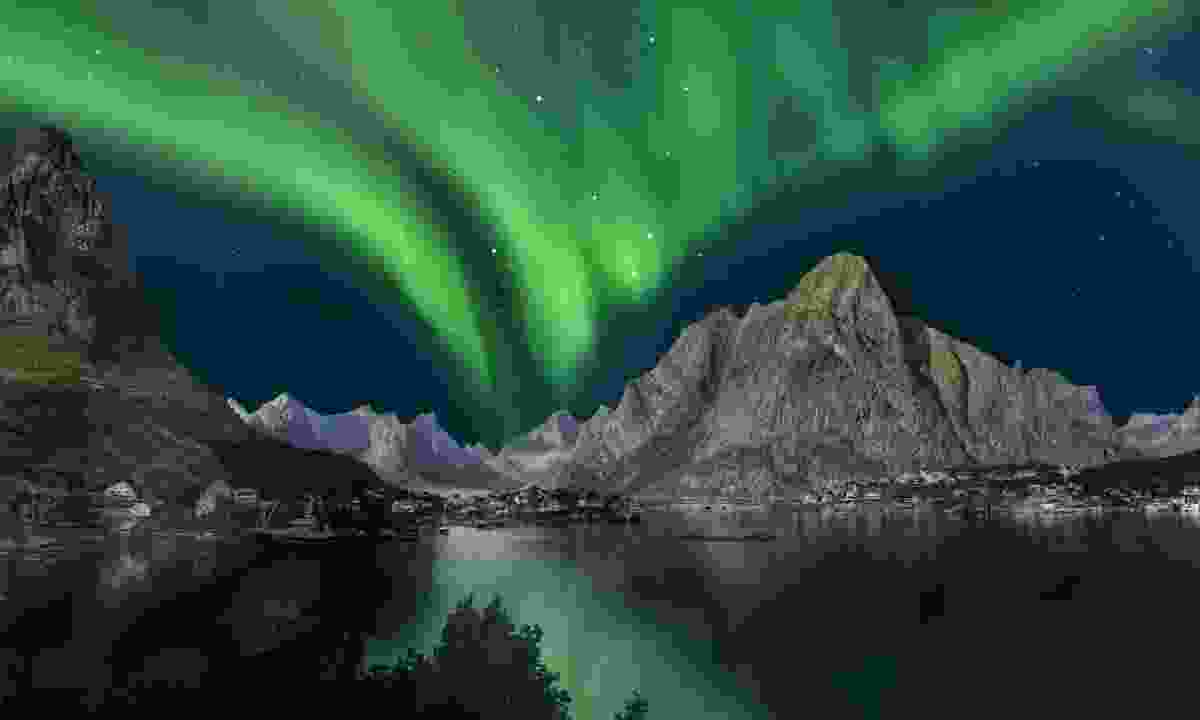 Northern lights in Norway (Dreamstime)