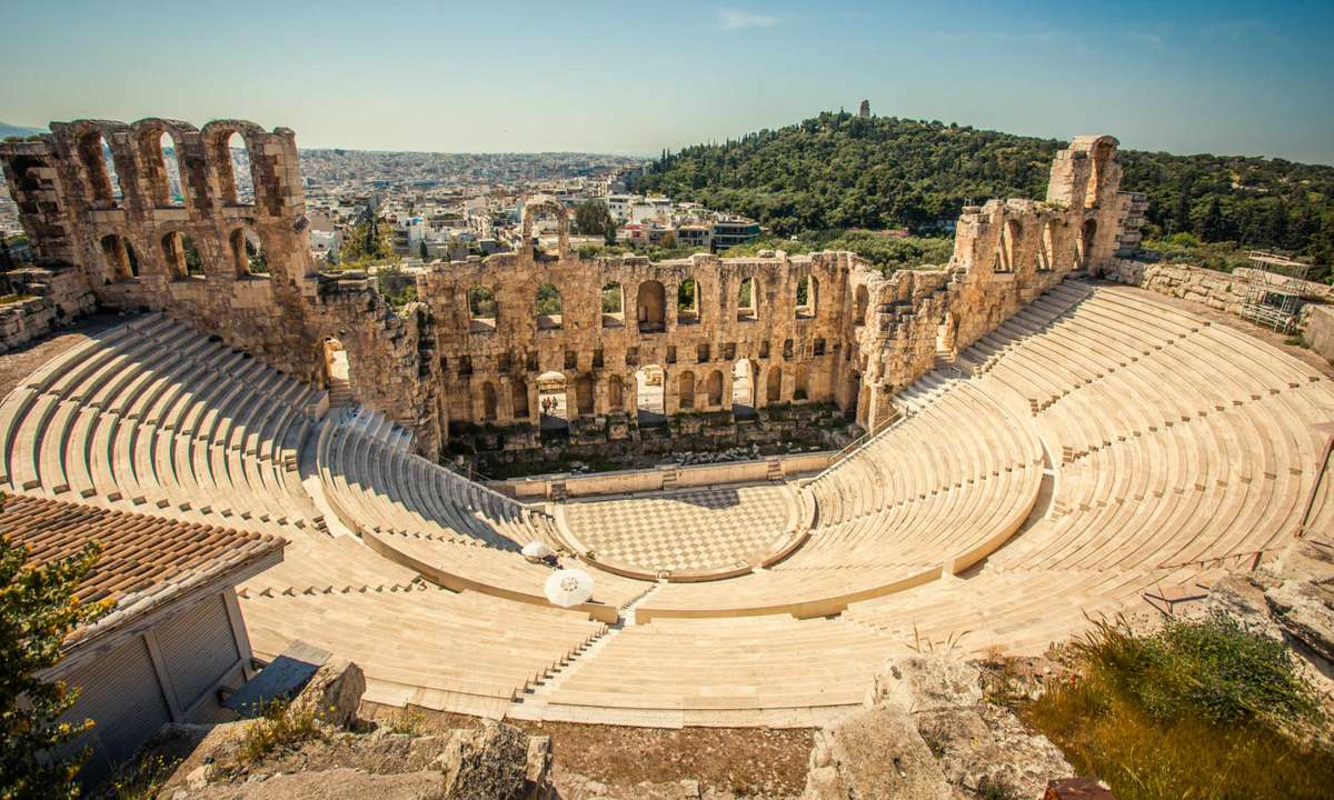 Odeon of Herodes Atticus (Dreamstime)