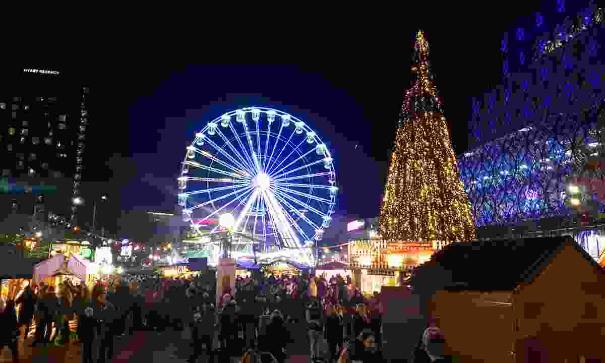 The Big Wheel at Birmingham's Frankfurt  Christmas Market (Dreamstime)