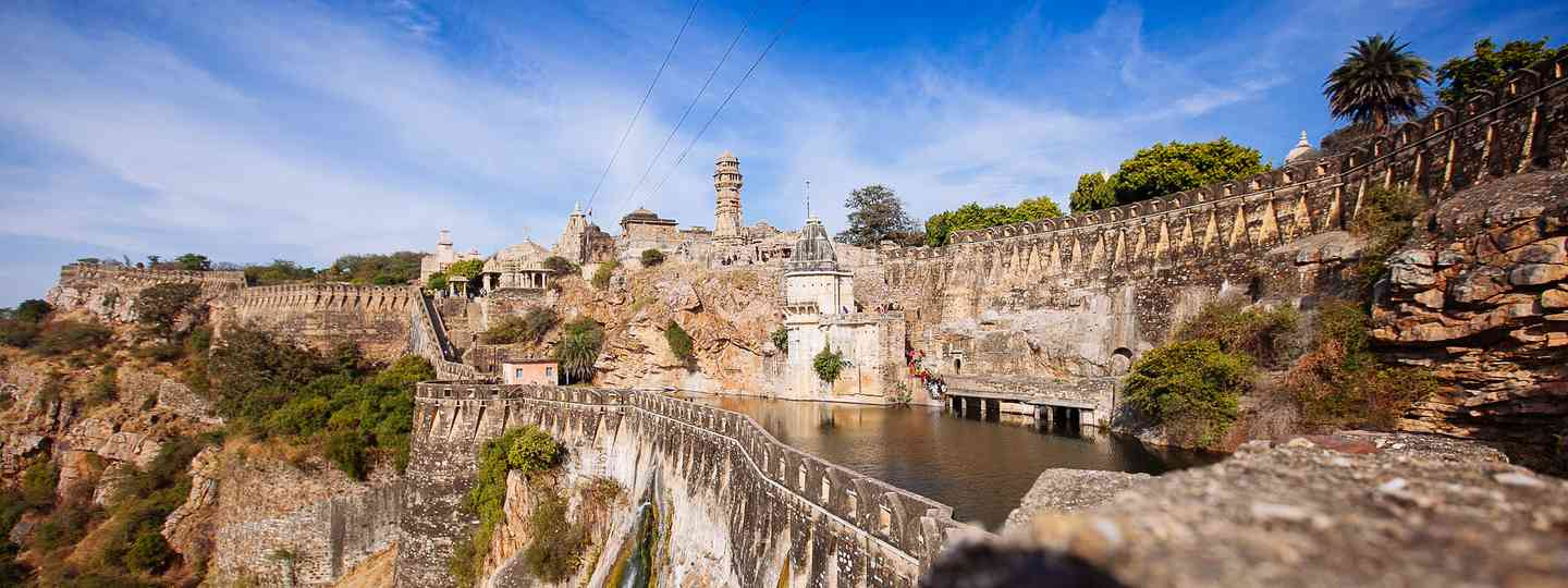 Chittorgarh Fort, part of the Rajasthan Hill Forts, India (Dreamstime)