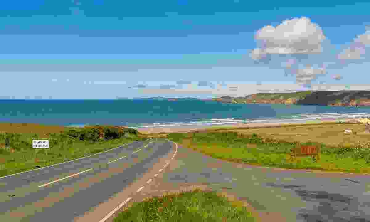 The coastal road leading to Newgale (Dreamstime)