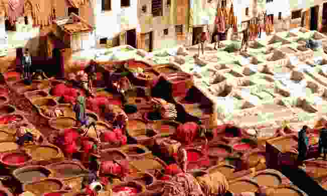 Chaouwara Tanneries (Dreamstime)