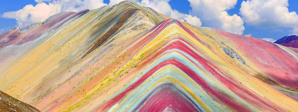 Rainbow mountains, Vinicua, Peru  (Dreamstime)