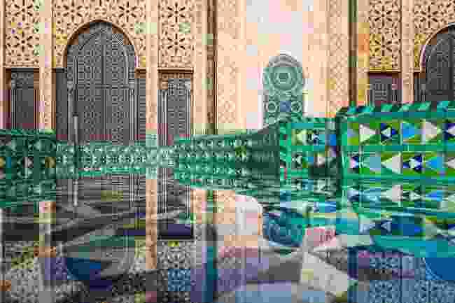 Hassan II Mosque's intricate gates, Casablanca (Shutterstock)