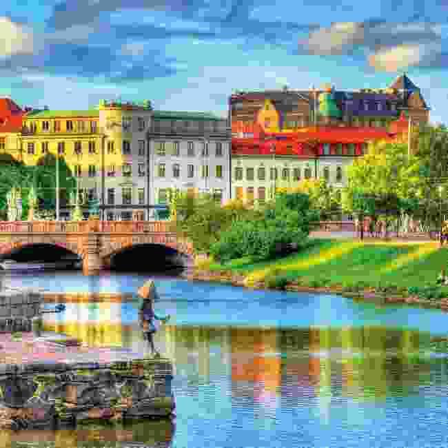 David wishes he was in Gothenburg, Sweden (Shutterstock)