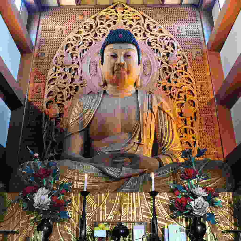 Inside Tojida temple