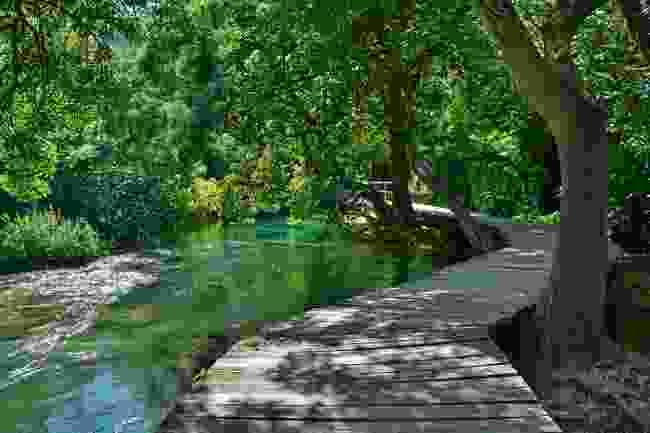 Krka walkway (Dreamstime)