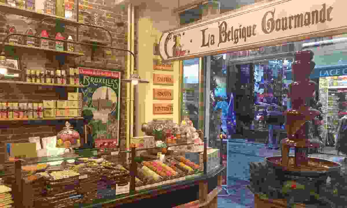 La Belgique Gourmande Brussels store (Ellie Kinsella)