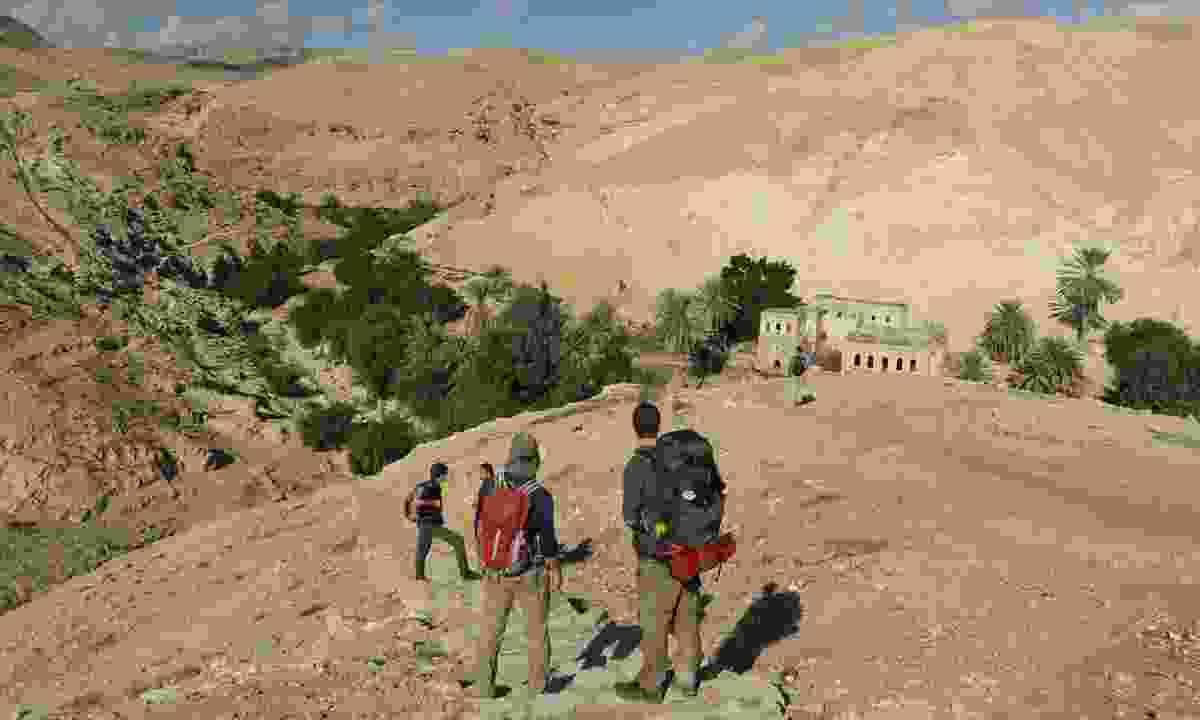 A homestay on the Masar Ibrahim al-Khalil trail (Leon McCarron)