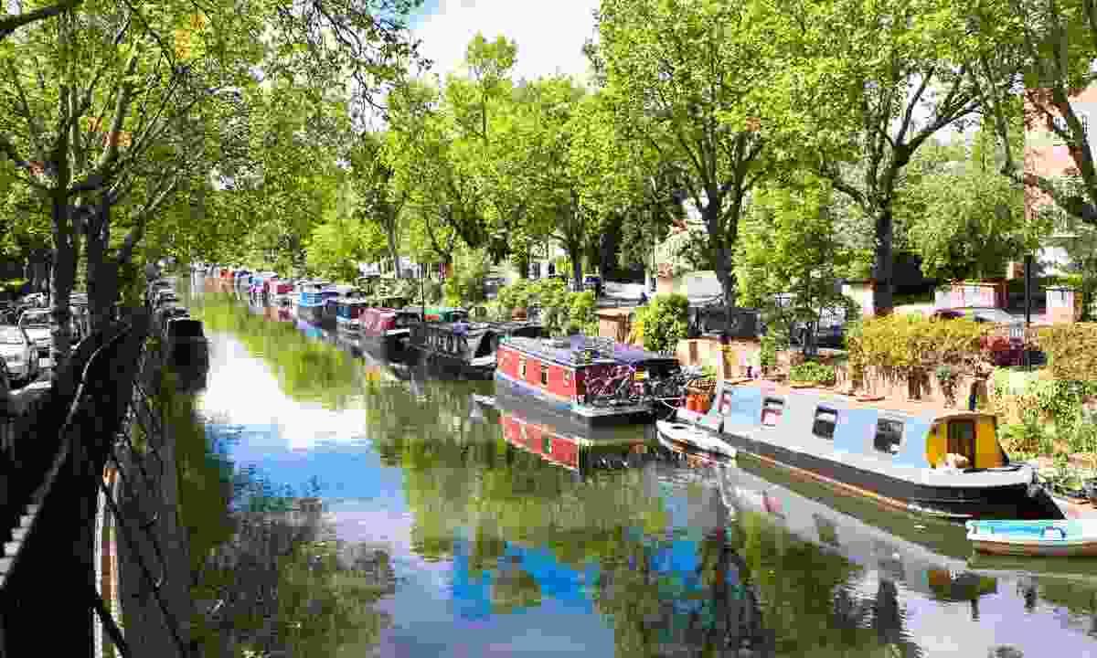 Regent's Canal, Little Venice (Shutterstock)